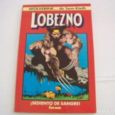 Fumetti: FORUM WOLVERINE LOBEZNO SEDIENTO DE SANGRE. Lote 266750873
