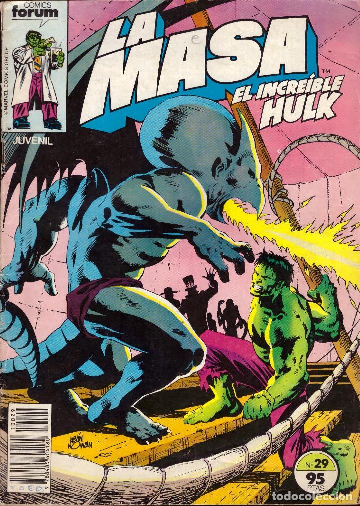 COMIC LA MASA, EL INCREIBLE HULK, Nº 29 - FORUM (Tebeos y Comics - Forum - Hulk)