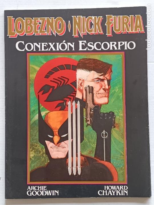 LOBEZNO Y CAPITAN FURY ZINCO (Tebeos y Comics - Forum - Furia)