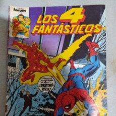Comics : LOS 4 FANTÁSTICOS. N. °4.MARVEL- FORUM. 1983.A COLOR. COMIC EN EXCELENTE ESTADO DE CONSERVACIÓN.. Lote 266812229