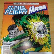Comics : ALPHA FLIGHT Y LA MASA RETAPADO NºS 51 52 53 VOL.1 FORUM BUEN ESTADO. Lote 266829189