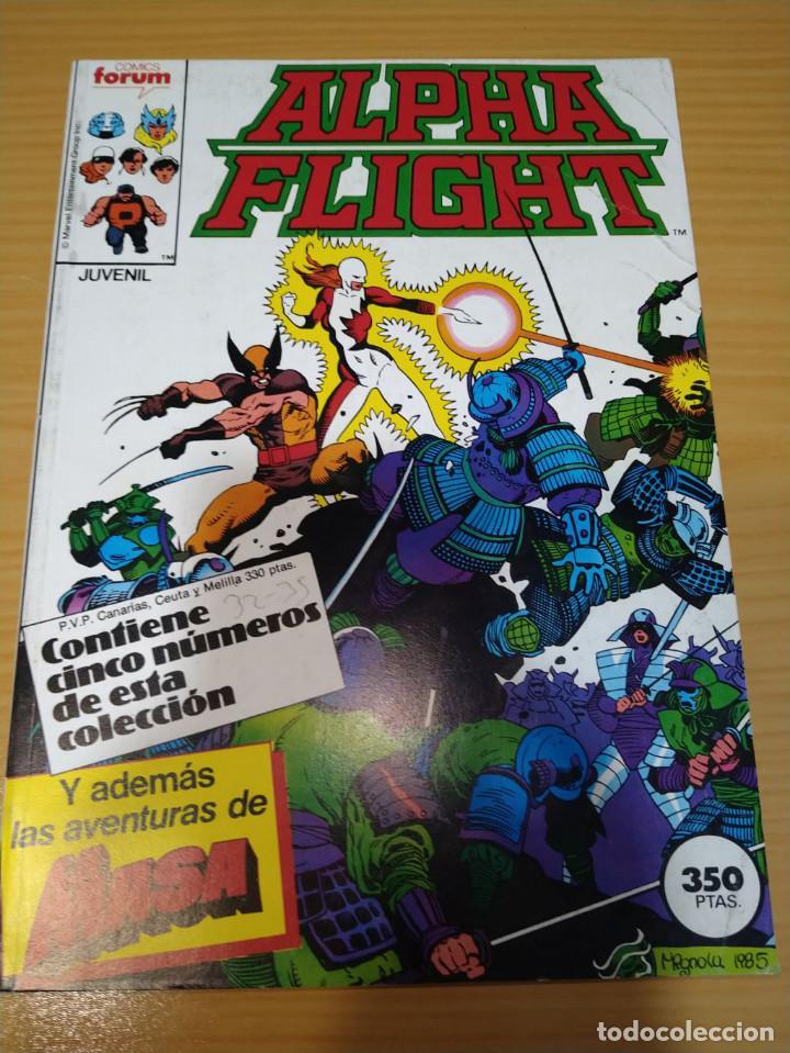 ALPHA FLIGHT RETAPADO NºS 32 33 34 35 (DOBLE) VOL.1 FORUM MUY BUEN ESTADO (Tebeos y Comics - Forum - Alpha Flight)