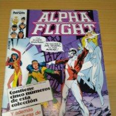 Comics : ALPHA FLIGHT RETAPADO NºS 27 28 29 30 31 VOL.1 FORUM MUY BUEN ESTADO. Lote 266830679