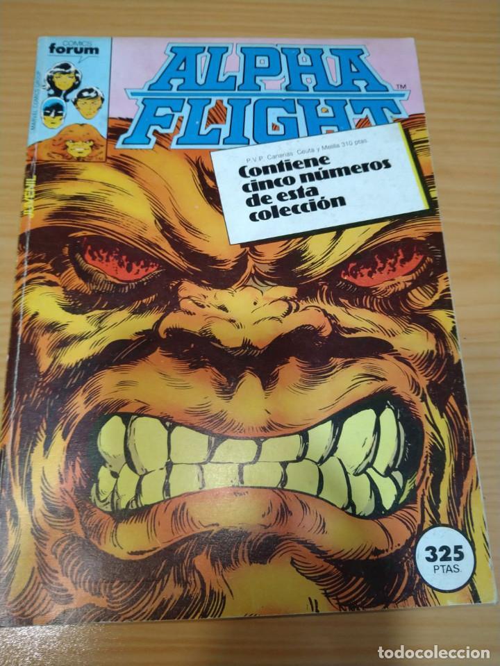 ALPHA FLIGHT RETAPADO NºS 6 7 8 9 10 VOL.1 FORUM MUY BUEN ESTADO (Tebeos y Comics - Forum - Alpha Flight)