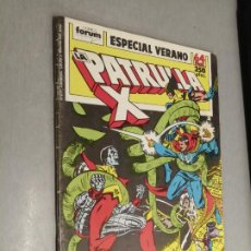 Comics : LA PATRULLA X ESPECIAL VERANO 1989 / MARVEL - FORUM. Lote 266845959