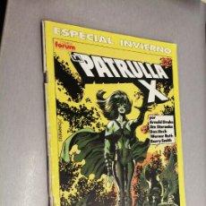 Comics : LA PATRULLA X ESPECIAL INVIERNO 1990 / MARVEL - FORUM. Lote 266846514
