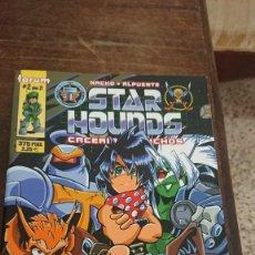 Comics : STAR HOUNDS CACERIA DE BICHOS - NACHO , ALPUENTE - FORUM 1999. Lote 266888494