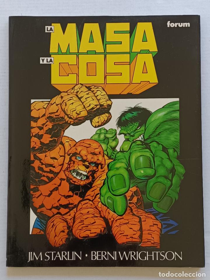 LA MASA Y LA COSA FORUM (Tebeos y Comics - Forum - Hulk)