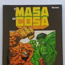 Cómics: LA MASA Y LA COSA FORUM. Lote 266902389