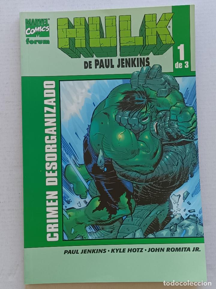 HULK PAUL JENKINS FORUM (Tebeos y Comics - Forum - Hulk)
