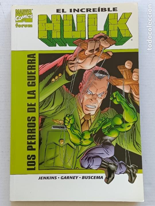 EL INCREÍBLE HULK LOS PERROS DE LA GUERRA PAUL JENKINS FORUM (Tebeos y Comics - Forum - Hulk)