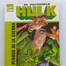 Cómics: EL INCREÍBLE HULK LOS PERROS DE LA GUERRA PAUL JENKINS FORUM. Lote 266904184