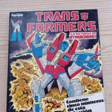 Cómics: TRANSFORMERS - LA VICTORIA DE STARSCREAM - CONTIENE CINCO NUMEROS DE ESTA COLECCION - FORUM. Lote 266917674