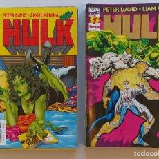 Cómics: HULK PETER DAVID LIAM SHARP FORUM. Lote 266947554