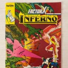 Comics: INFERNO 6 - FACTOR X - FORUM. Lote 266975514