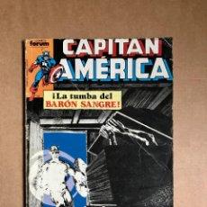 Cómics: CAPITÁN AMÉRICA - RETAPADO - NÚMEROS DEL 11 AL 15 DE FORUM (VER FOTOS). Lote 267051429