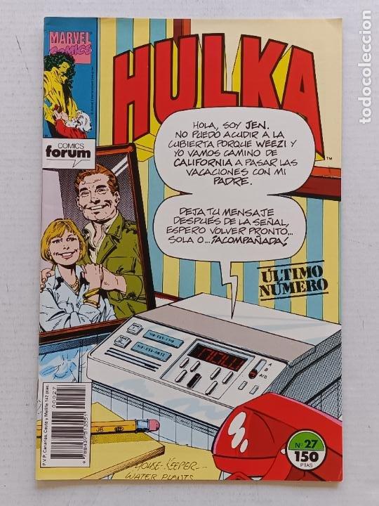 Cómics: HULKA COLECCIÓN COMPLETA FORUM - Foto 15 - 267077659