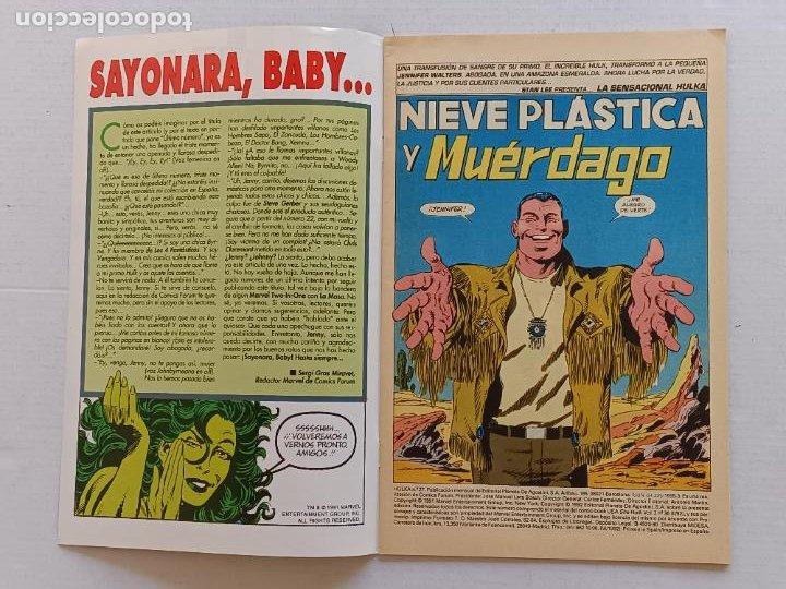 Cómics: HULKA COLECCIÓN COMPLETA FORUM - Foto 16 - 267077659