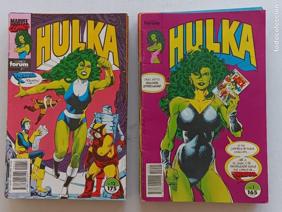 HULKA COLECCIÓN COMPLETA FORUM (Tebeos y Comics - Forum - Hulk)