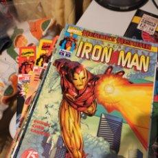 Cómics: EL INVENCIBLE IRON MAN COMPLETA EN 25 NOS MÁS ANUAL 1999 Y 2000. Lote 267121114