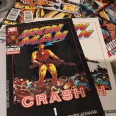 Cómics: IRON MAN CRASH COMPLETA EN DOS NÚMEROS. Lote 267129644