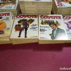 Cómics: EL COYOTE 91 EJEMPLARES -FALTAN 5 PARA COMPLETAR COLECCION-EN BUEN ESTADO. Lote 267166329