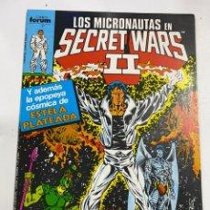 Fumetti: LOS MICRONAUTAS EN SECRET WARS II. Nº 37.- LAS GUERRAS SECRETAS CONTINUAN. FORUM. Lote 267194924