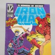 Cómics: IRON MAN EL HOMBRE DE HIERRO VOL 3 Nº 4 / MARVEL - PANINI. Lote 267330469
