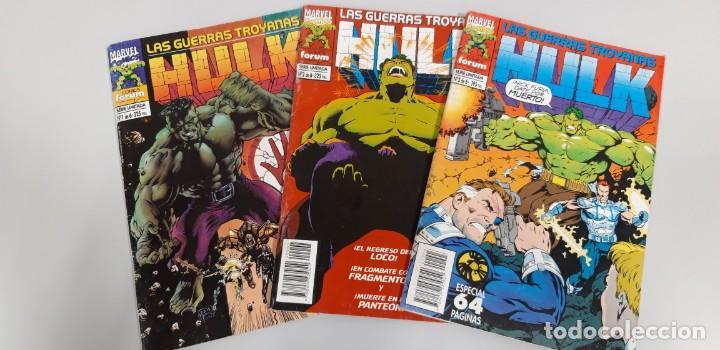 HULK LAS GUERRAS TROYANAS COMPLETA FORUM (Tebeos y Comics - Forum - Hulk)