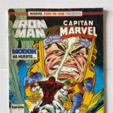 Cómics: IRON MAN 48 - MARVEL TWO IN ONE FORUM. Lote 267434234