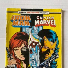 Cómics: IRON MAN 47 - MARVEL TWO IN ONE FORUM. Lote 267434399