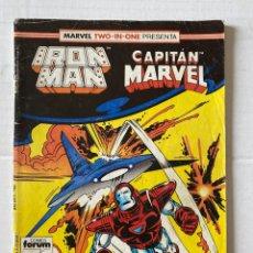 Cómics: IRON MAN 46 - MARVEL TWO IN ONE FORUM EN BUEN ESTADO. Lote 267434559