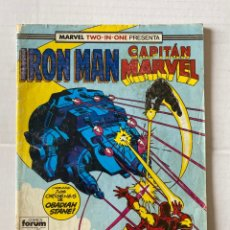 Cómics: IRON MAN 44 - MARVEL TWO IN ONE FORUM. Lote 267434654