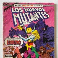Cómics: LOS NUEVOS MUTANTES 48 - MARVEL TWO IN ONE FORUM. Lote 267435644