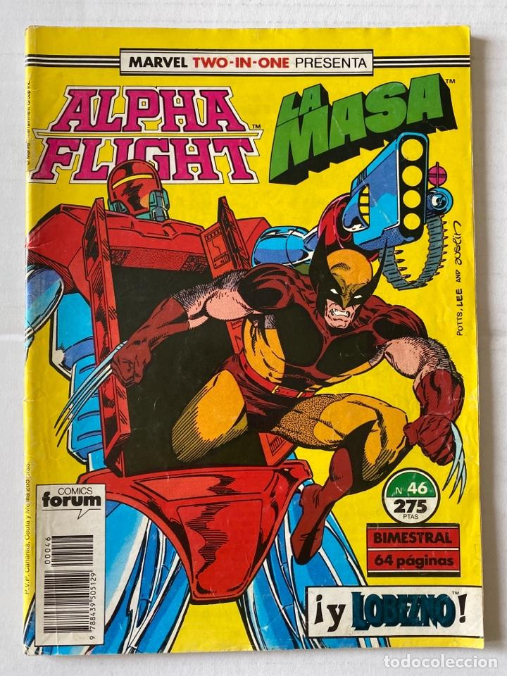 ALPHA FLIGHT 46 - MARVEL TWO IN ONE FORUM (Tebeos y Comics - Forum - Alpha Flight)