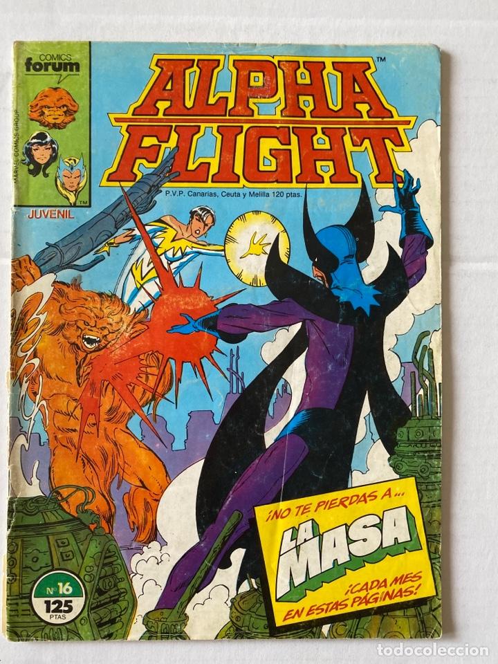ALPHA FLIGHT 16 - FORUM (Tebeos y Comics - Forum - Alpha Flight)