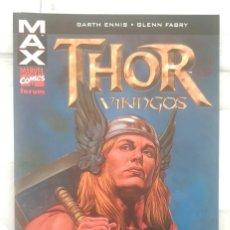 Cómics: MAX: THOR: VIKINGOS DE GARTH ENNIS Y GLENN FABRY. TOMO UNICO. COMICS FORUM 2004. Lote 267506349