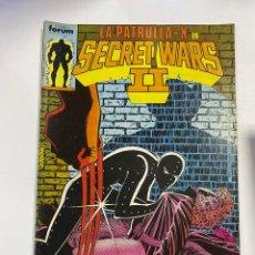 Fumetti: LA PATRULLA-X EN SECRET WARS II. Nº 16.- LAS GUERRAS SECRETAS CONTINUAN. COMICS FORUMS / MARVEL. Lote 267539444
