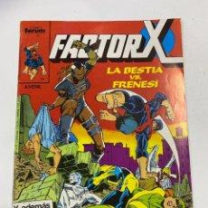 Cómics: FACTOR-X. Nº 4.- LA BESTIA VS. FRENESI. COMICS FORUMS / MARVEL.. Lote 267540839