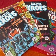 Cómics: MARVEL HEROES NºS 43, 44, 45 Y 46 PANTERA NEGRA ( GILLIS COWAN ) ¡BUEN ESTADO! FORUM. Lote 267706444