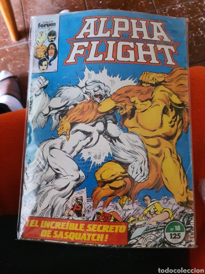 ALPHA FLIGHT VOLUMEN 1 NÚMERO 18 (FORUM) (Tebeos y Comics - Forum - Alpha Flight)