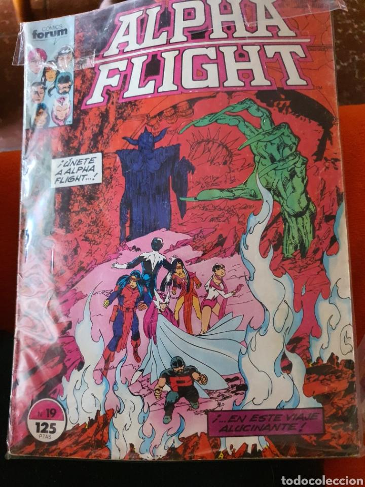ALPHA FLIGHT VOLUMEN 1 NÚMERO 19 (FORUM) (Tebeos y Comics - Forum - Alpha Flight)