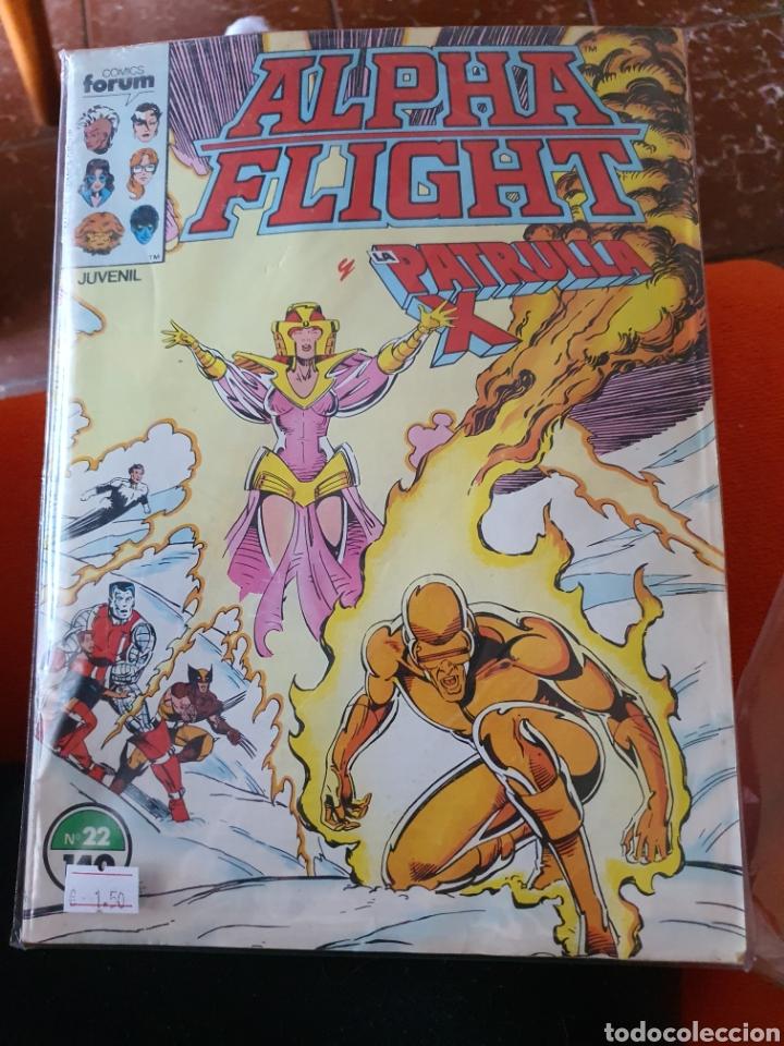 ALPHA FLIGHT VOLUMEN 1 NÚMERO 22 (FORUM) (Tebeos y Comics - Forum - Alpha Flight)
