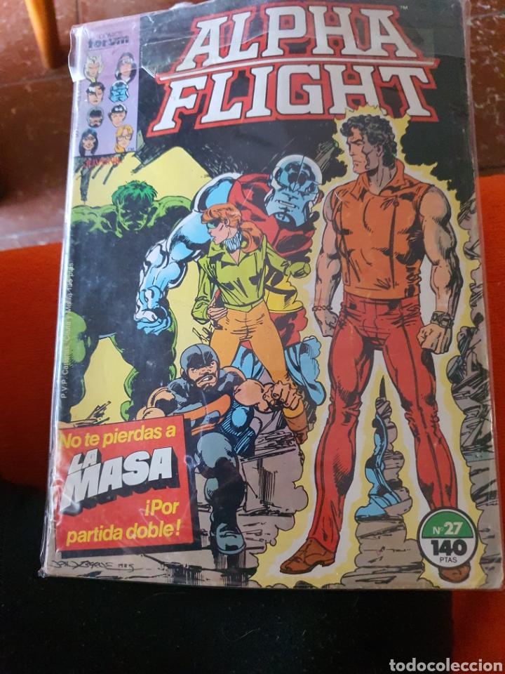 ALPHA FLIGHT VOLUMEN 1 NÚMERO 27 (FORUM) (Tebeos y Comics - Forum - Alpha Flight)