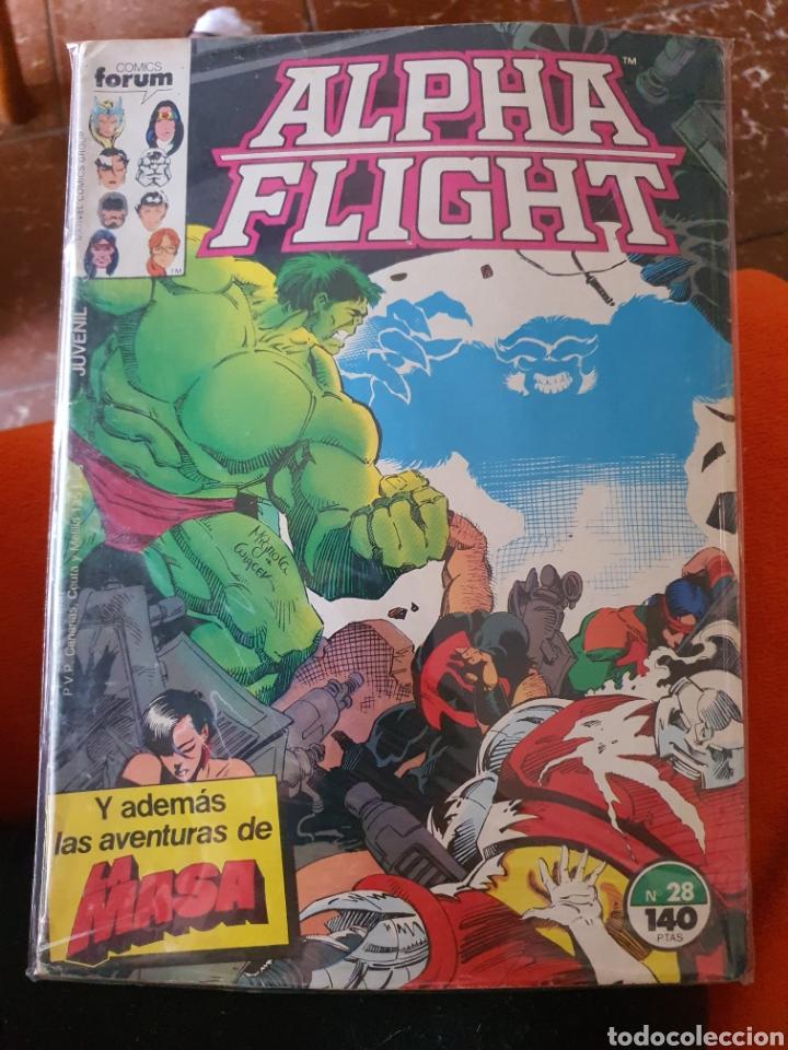 ALPHA FLIGHT VOLUMEN 1 NÚMERO 28 (FORUM) (Tebeos y Comics - Forum - Alpha Flight)