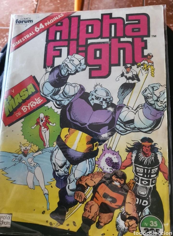 ALPHA FLIGHT VOLUMEN 1 NÚMERO 35 (FORUM) (Tebeos y Comics - Forum - Alpha Flight)