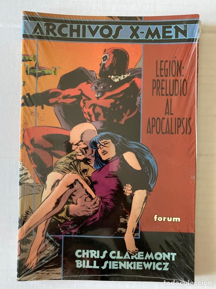 ARCHIVOS X-MEN - PRELUDIO AL APOCALIPSIS - FORUM - DE KIOSKO, PRECINTADO (Tebeos y Comics - Forum - X-Men)