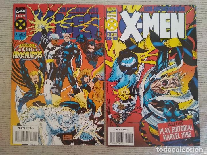 LOS ASOMBROSOS X-MEN. Nº 1 AL 4. COMPLETA. FORUM (Tebeos y Comics - Forum - X-Men)