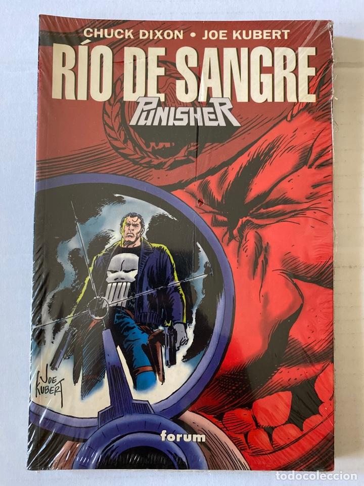 RÍO DE SANGRE PUNISHER - DE KIOSKO , PRECINTADO - FORUM (Tebeos y Comics - Forum - Prestiges y Tomos)