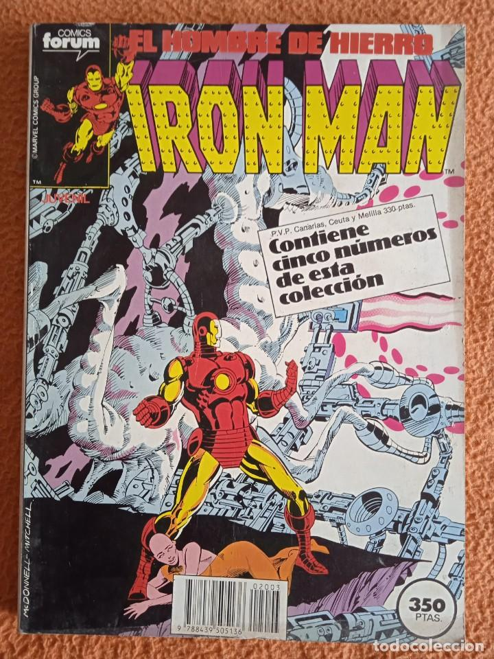 IRON MAN EL HOMBRE DE HIERRO 26-27-28-29-30 FORUM (Tebeos y Comics - Forum - Iron Man)